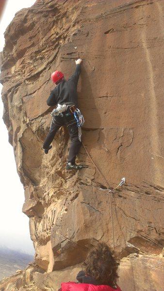 Rock Climbing Photo: Atman