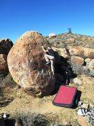Rock Climbing Photo: Enjoying the slab moves.
