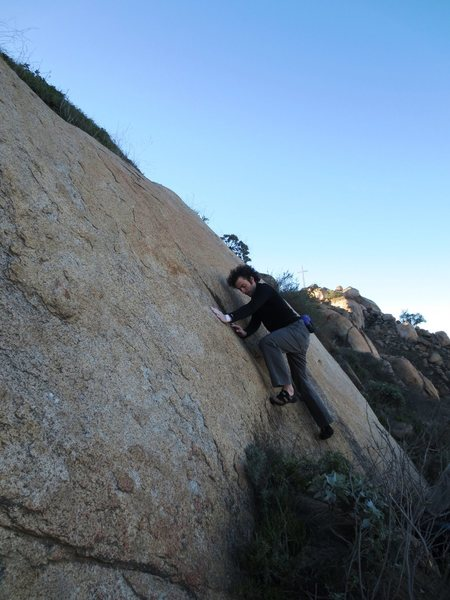 Rock Climbing Photo: Starting Route 4