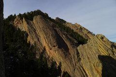 Rock Climbing Photo: Fatiron from The Maiden.