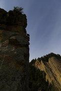 Rock Climbing Photo: Matt on P5a.