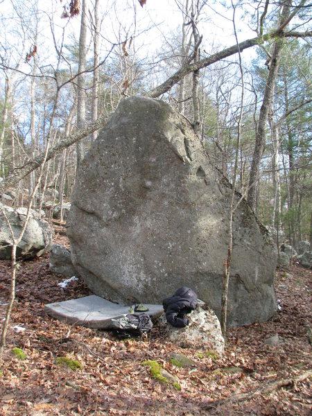 Rock Climbing Photo: The Gnome Boulder