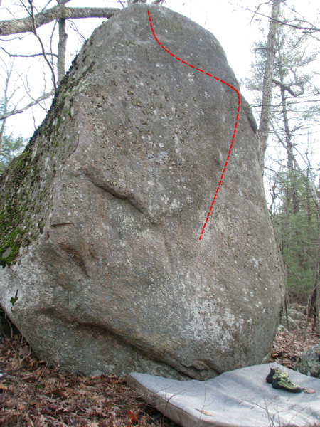 Rock Climbing Photo: The Angry Gnome