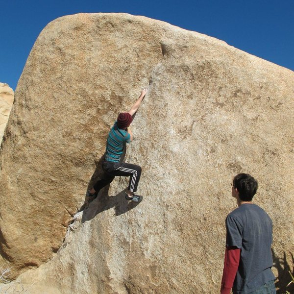Rock Climbing Photo: Sarvs on The Chube.