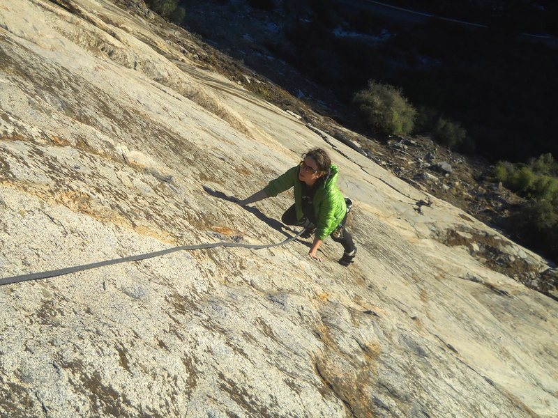 Rock Climbing Photo: Machine Gun Jubblies