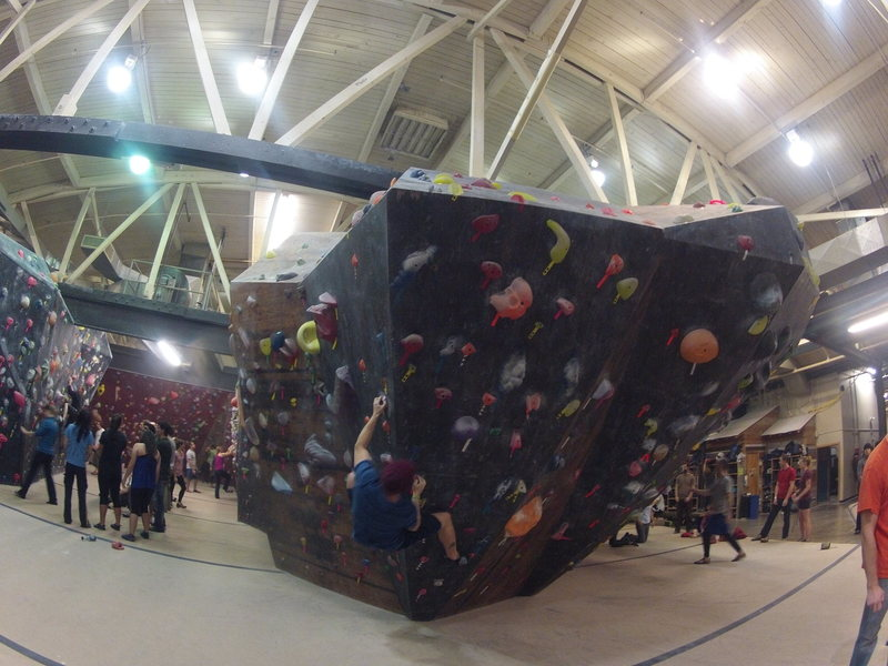Rock Climbing Photo: Getting some gym action at The Circuit Gym NE in P...