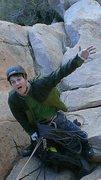 Rock Climbing Photo: Ian Harris on a very safe belay