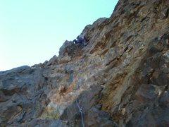 Rock Climbing Photo: FA Applecore