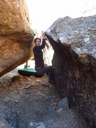 Rock Climbing Photo: Not a great shot, or even really OK but it does sh...