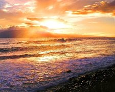 """Rock Climbing Photo: """"West Side Sunset Ride"""" Surfer: Olaf Mit..."""