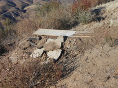 Rock Climbing Photo: Ramp built by bikers for jumps at Texas Canyon.