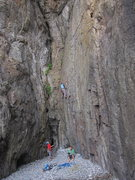 Rock Climbing Photo: Collinson, Hong Kong.