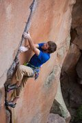 Rock Climbing Photo: Mattson Crack aka Lost Elden Crack.  Photo: Chris ...