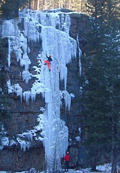 Rock Climbing Photo: The Spice