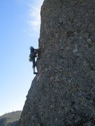 Rock Climbing Photo: Dave just past first bolt