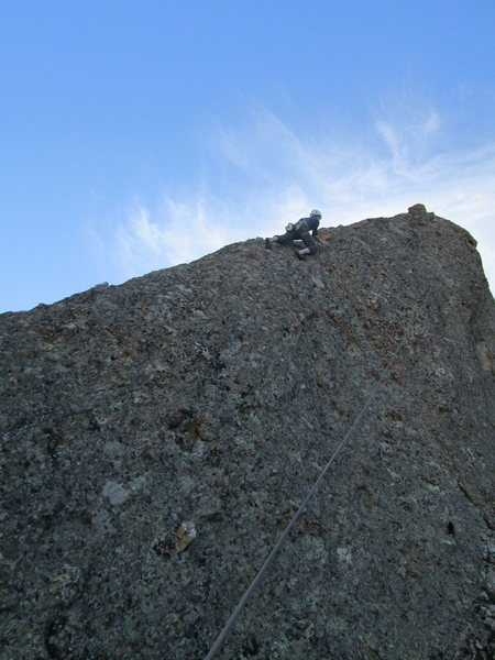 dave a little higher on the route