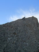 Rock Climbing Photo: dave a little higher on the route