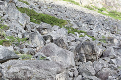 Rock Climbing Photo: Another view of the lower talus field north of She...