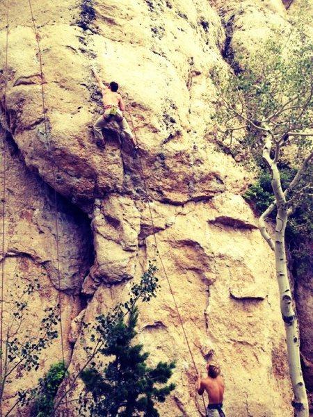 Rock Climbing Photo: Tomahawk Slam @ Wild Iris