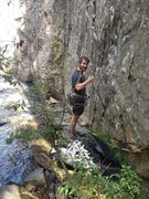 Rock Climbing Photo: Climbing With Nate at Beaver Beach! pretty sure i ...