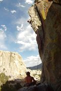 Rock Climbing Photo: Mevans crushing