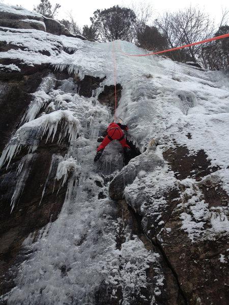Frederik on Top Rope