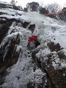 Rock Climbing Photo: Frederik on Top Rope