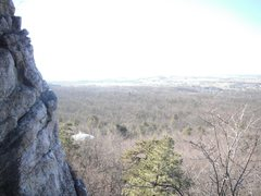 Rock Climbing Photo: The view from Wise Crack.