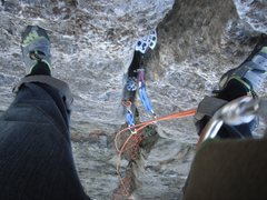 Rock Climbing Photo: point of view.