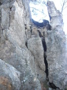Rock Climbing Photo: This photo isn't great but Ichose it because it ha...