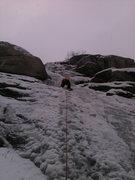 Rock Climbing Photo: playing on Scruffy band