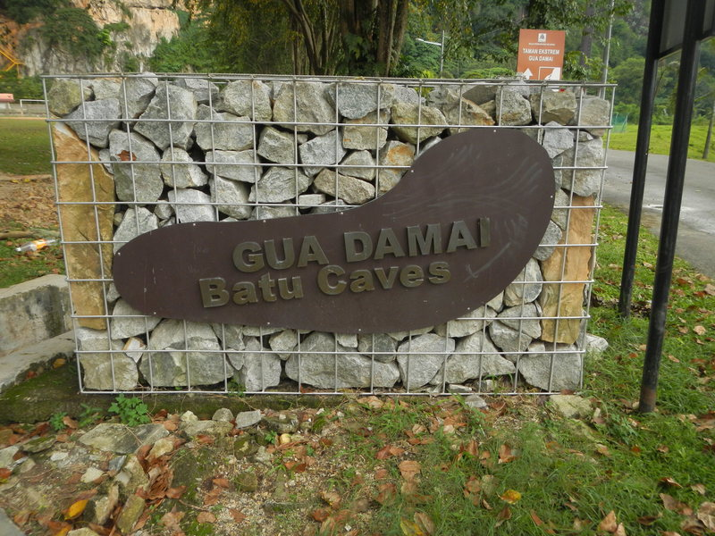 Rock Climbing Photo: Gua Damai means Peace cave (gua=cave damai=peace) ...