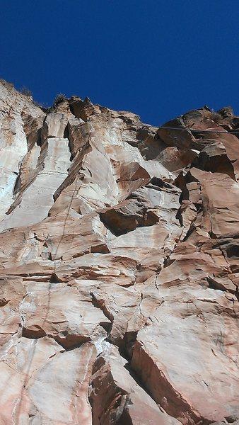 Rock Climbing Photo: Comin in hot