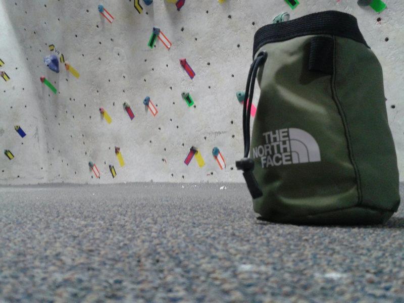 Rock Climbing Photo: chalk