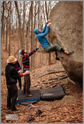 Rock Climbing Photo: A little taste of Fontainebleau