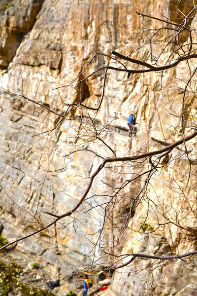 Rock Climbing Photo: bat cave