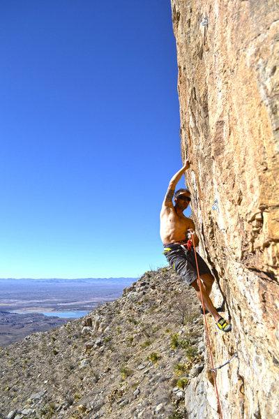 Rock Climbing Photo: left of bat cave