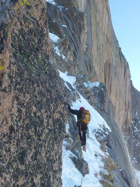 Rock Climbing Photo: Broadway, November 24.