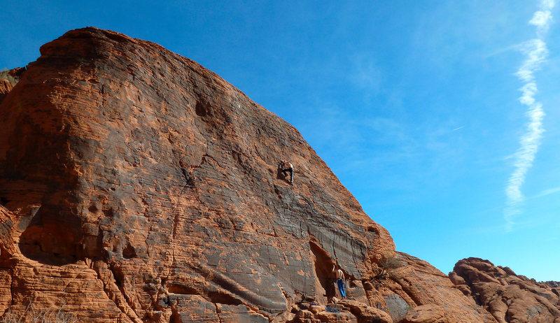 Rock Climbing Photo: Magic Bus