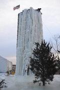 Rock Climbing Photo: new ice
