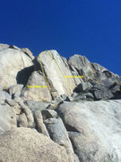 Rock Climbing Photo: I'm not sure if the line for Feltzer is correct bu...