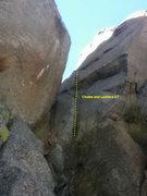 Rock Climbing Photo: Chutes