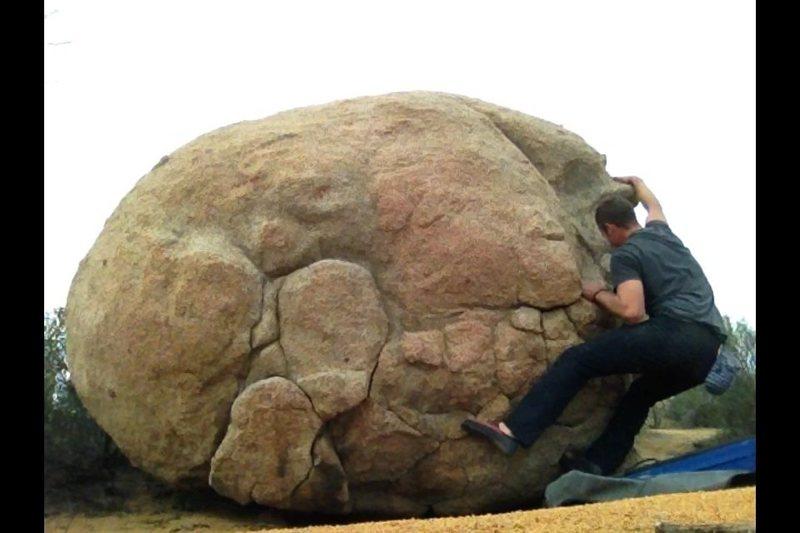 Rock Climbing Photo: Fun moves