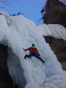 Rock Climbing Photo: Jordon Griffler on The Rigid Designator - Vail Col...