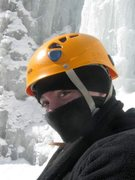 Rock Climbing Photo: Ninja Ice Climber Autumn at Pitchoff Right.