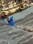 Rock Climbing Photo: Golden Locks