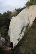 Rock Climbing Photo: another view with size comparison