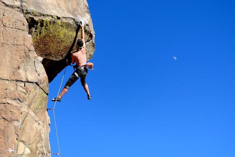 Rock Climbing Photo: Perfect January day.   1/19/2013.