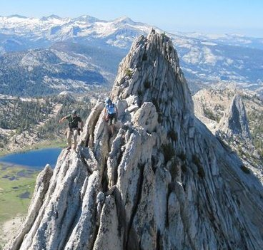 Matthes Crest traverse<br> <br> Photo by Texplorer