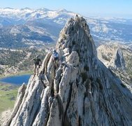 Rock Climbing Photo: Matthes Crest traverse  Photo by Texplorer
